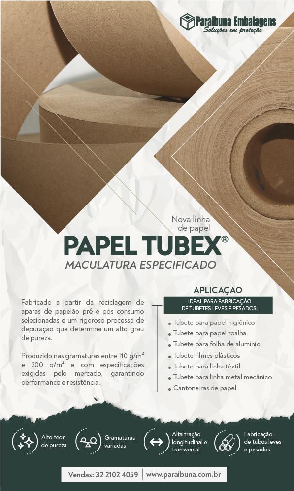 Nova linha de Papel Tubex – Maculatura especifico: