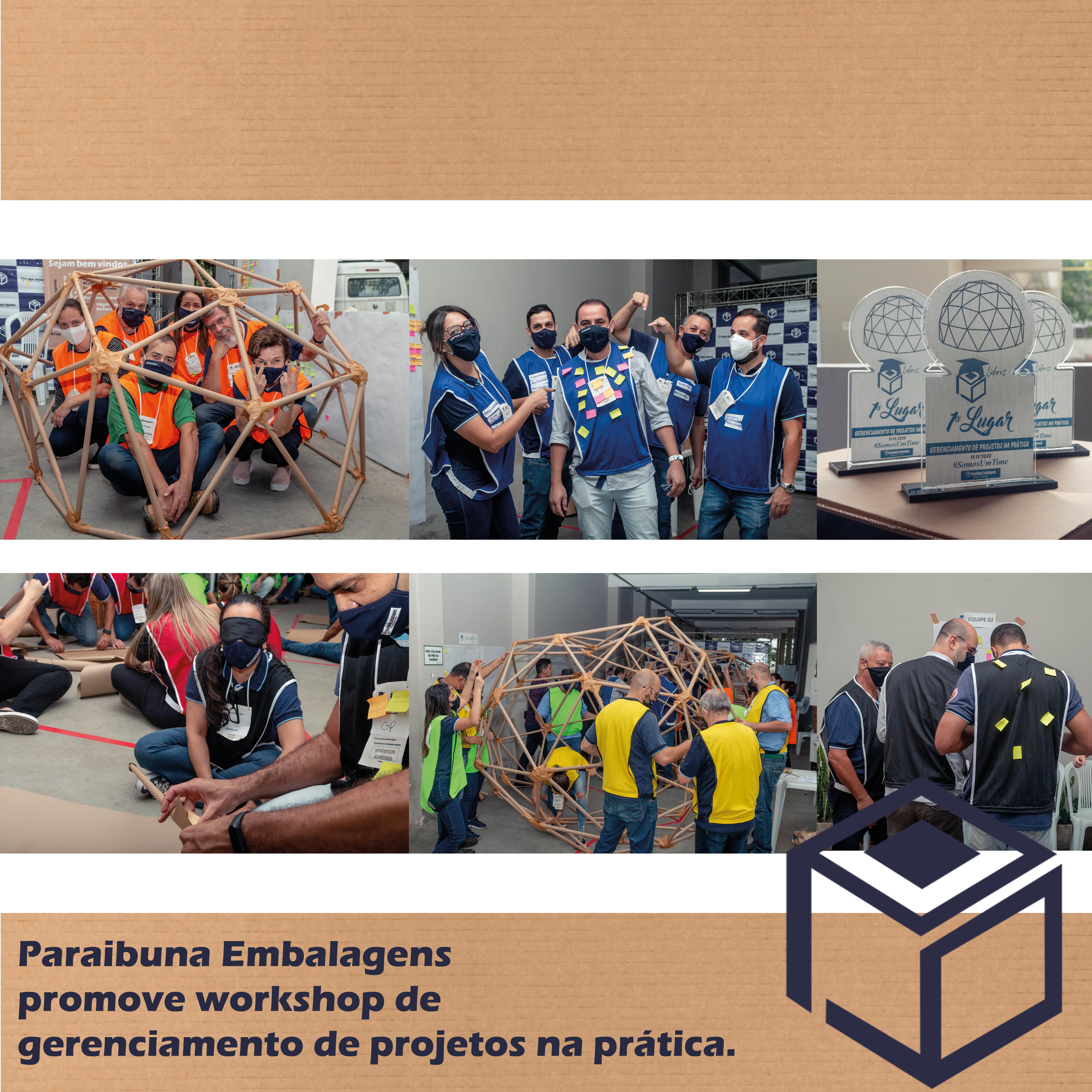 Paraibuna Embalagens promove workshop de gerenciamento de projetos na prática.