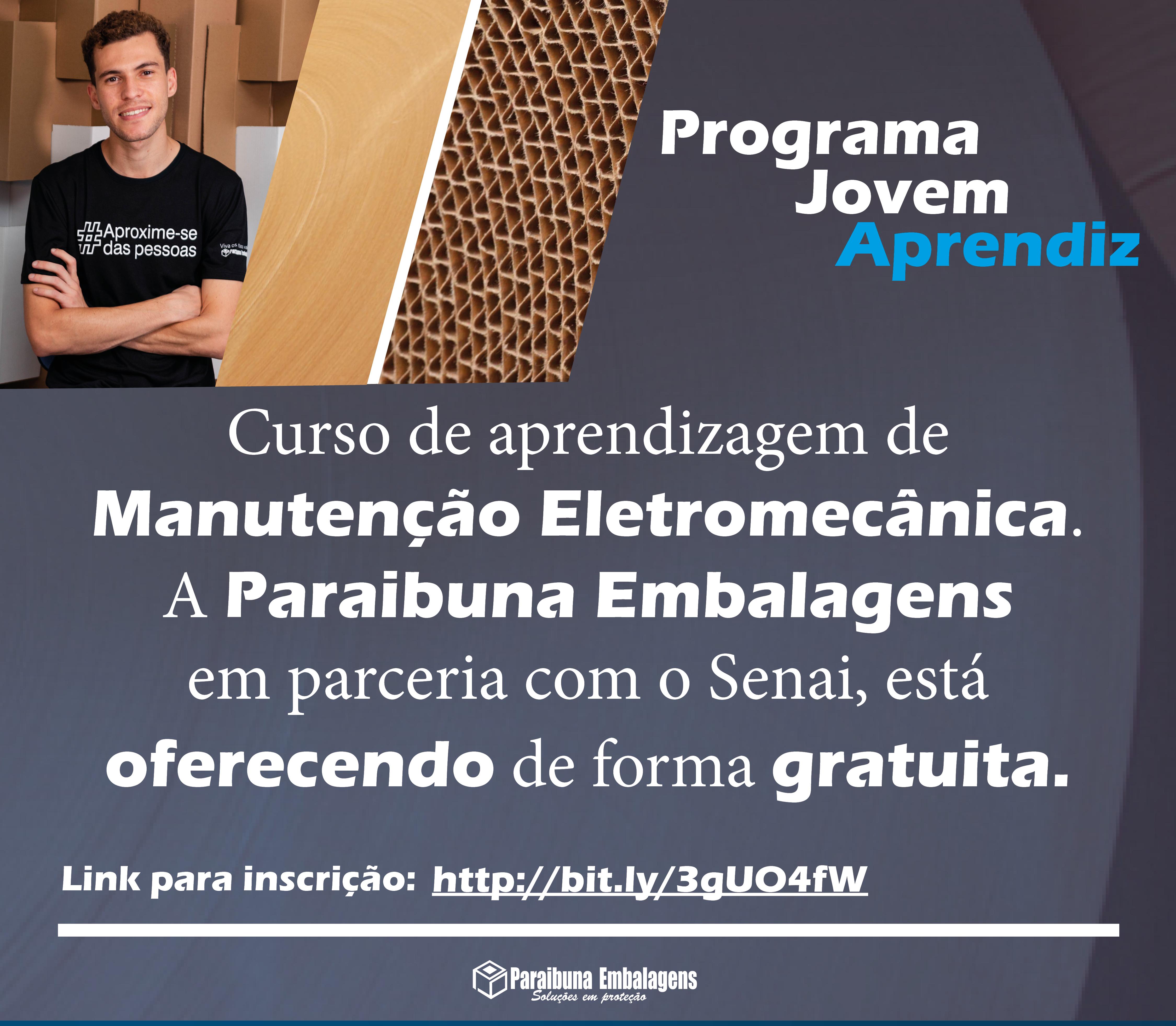 Programa Jovem Aprendiz|Manutenção Eletromecânica: