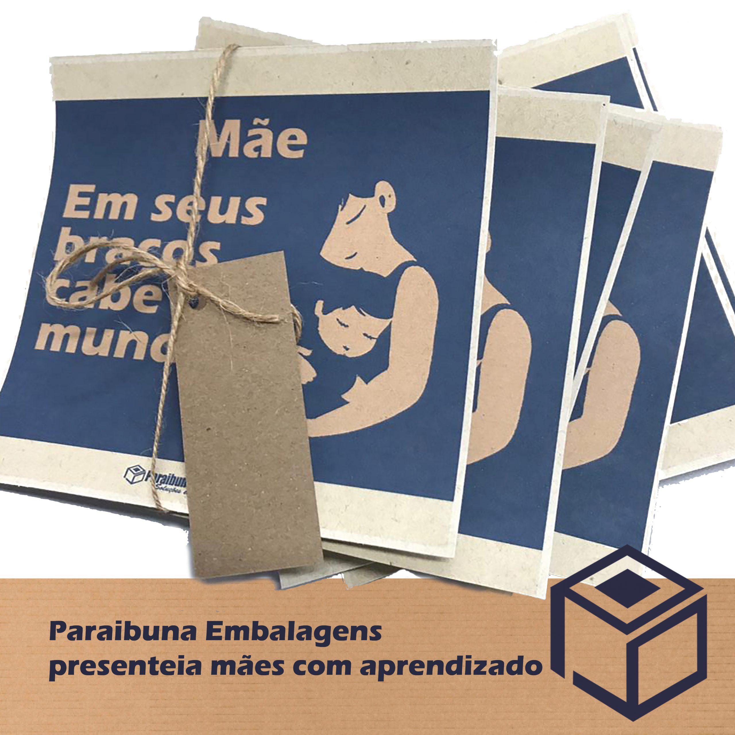 Paraibuna Embalagens presenteia mães com aprendizado