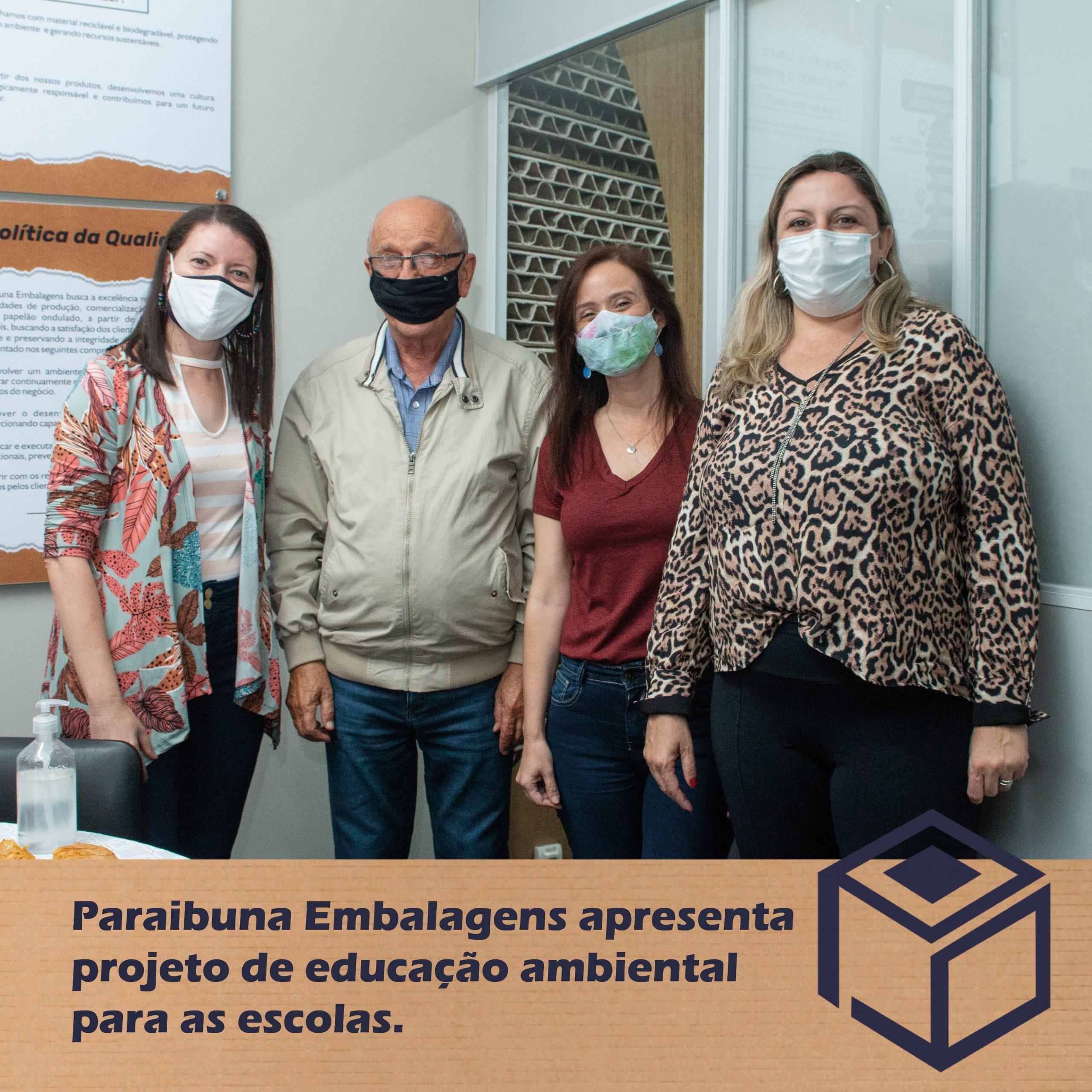Paraibuna Embalagens apresenta projeto de educação ambiental para as escolas