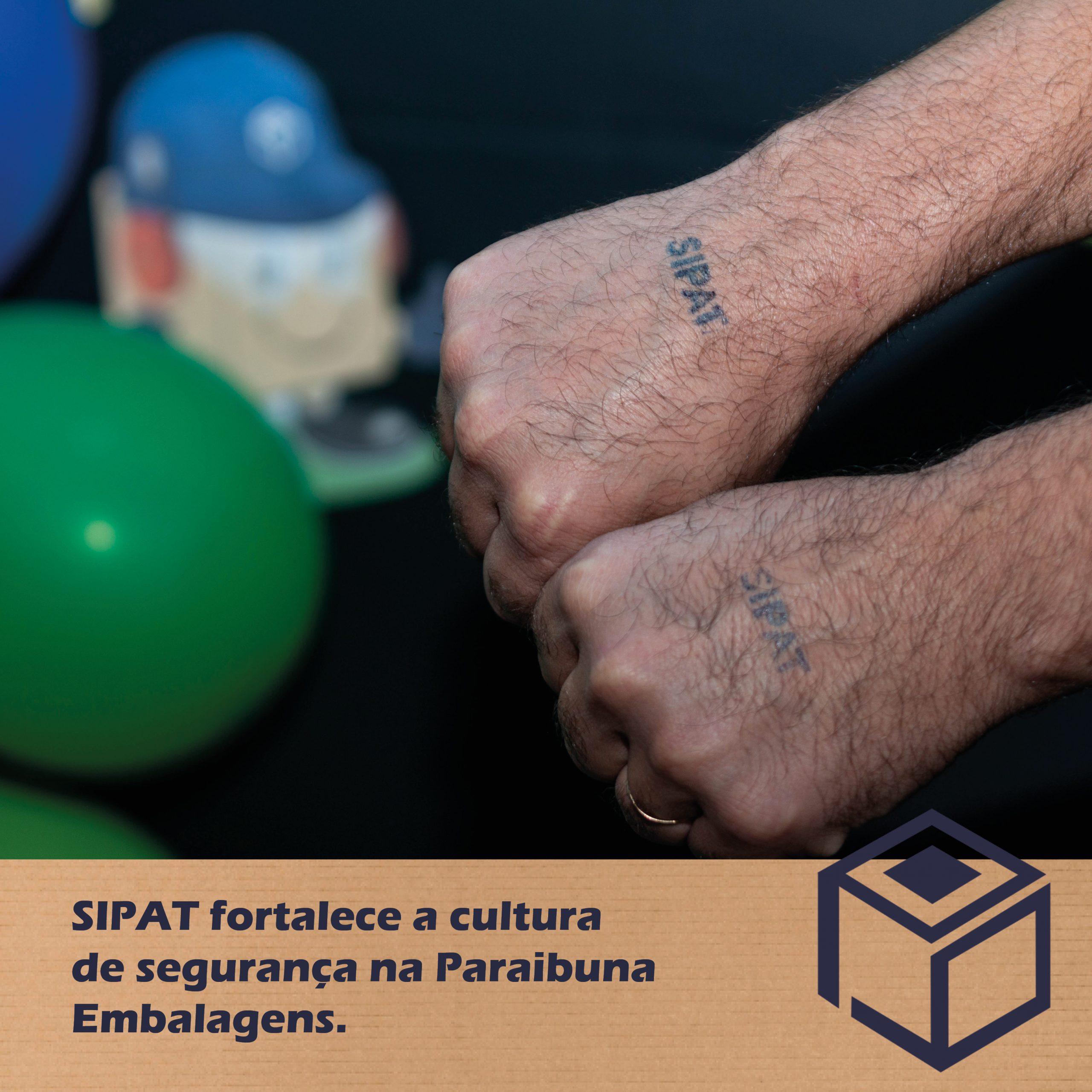 SIPAT fortalece a cultura de segurança na Paraibuna Embalagens.