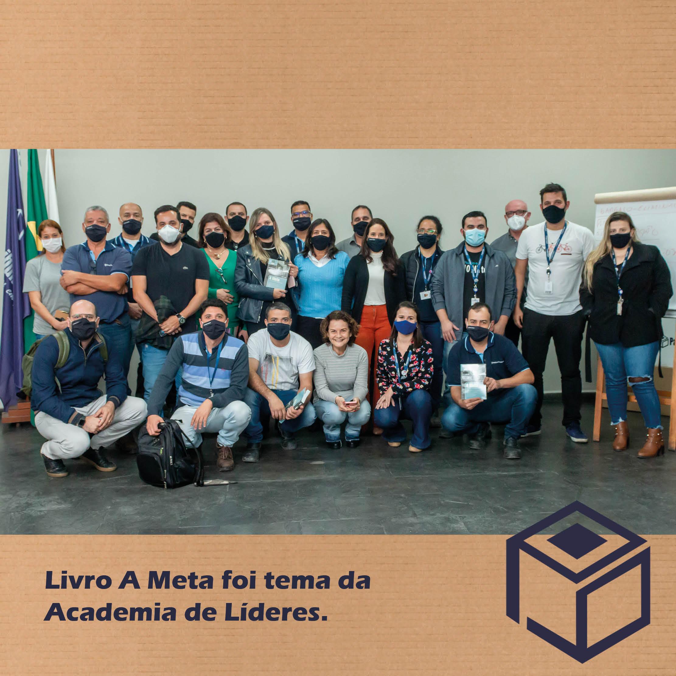 Livro A Meta é tema da Academia de Líderes