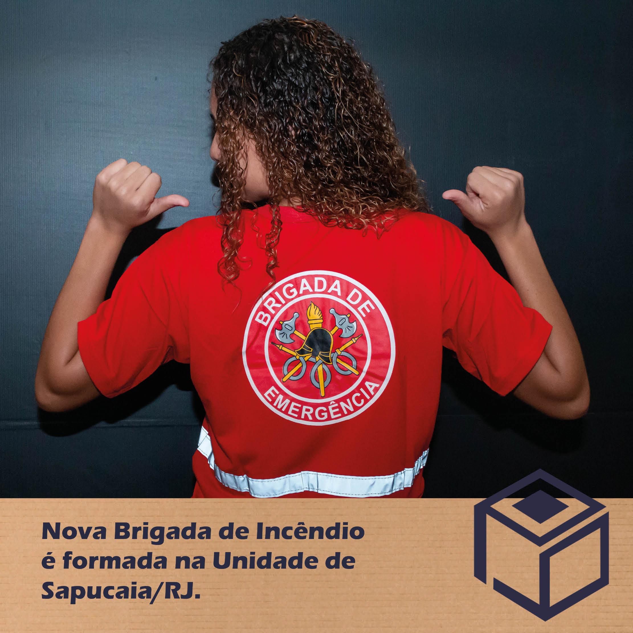 Nova Brigada de Incêndio é formada na Unidade de Sapucaia.