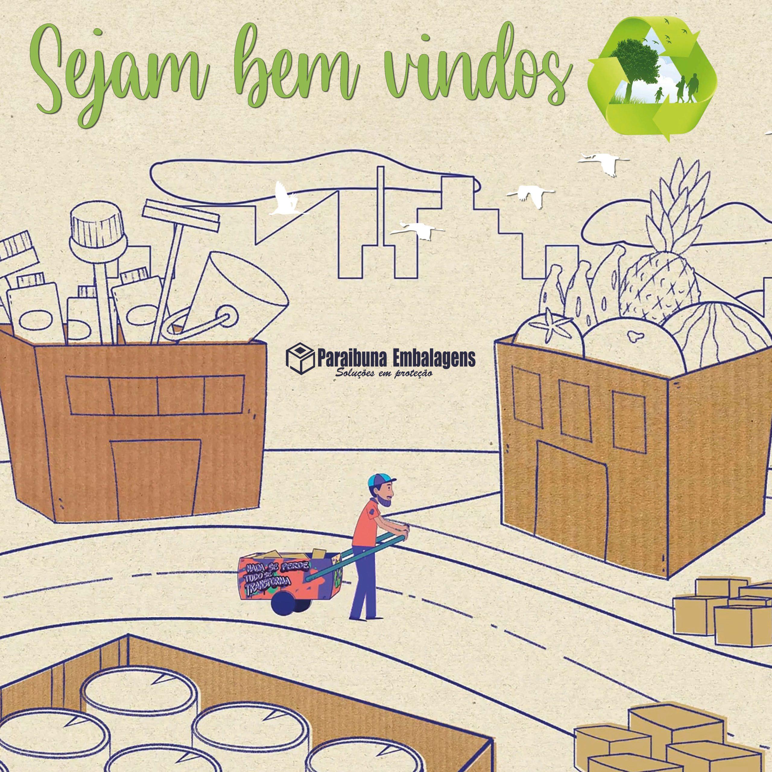 Paraibuna Embalagens reforça seu compromisso com os catadores de matérias recicláveis.